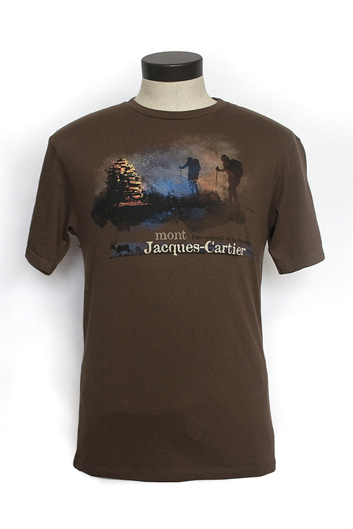 t-shirt Mont Jacques-Cartier